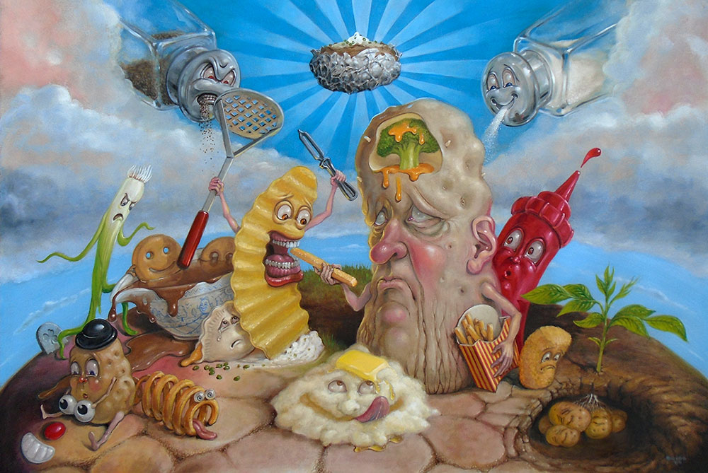 Pop Surrealism Art of Stephen Gibb