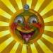 lowbrow pop surrealism happy face