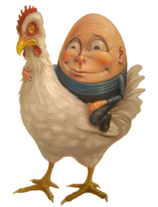 Stephen Gibb - Humpty Dumpty, chicken