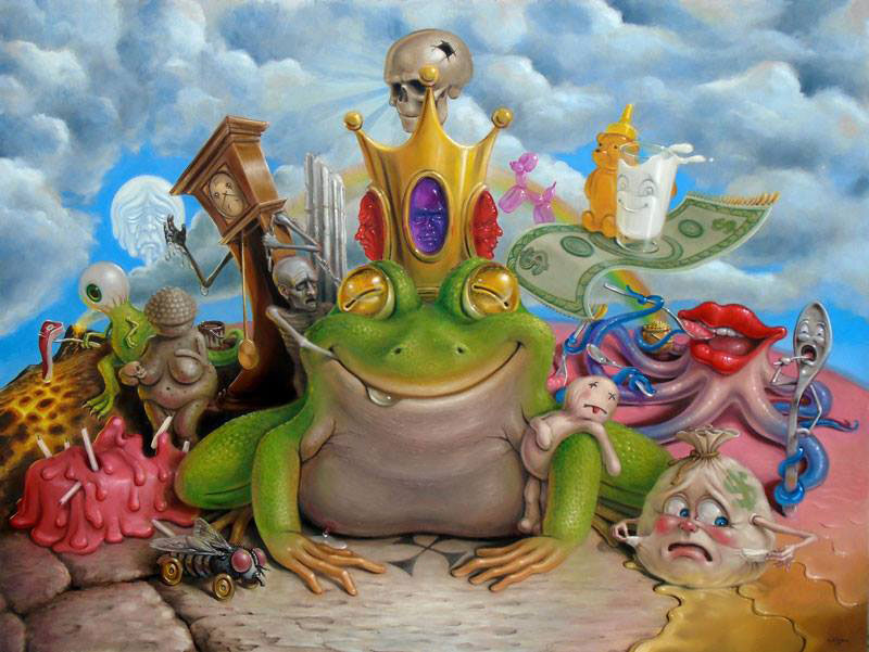 Surrealism Art Frog Prince