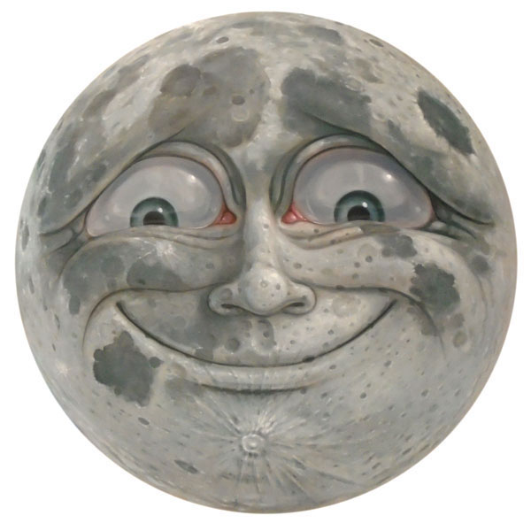 Happy Moon Face