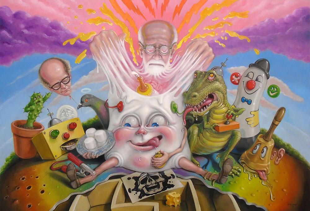 pop surrealism and lowbrow