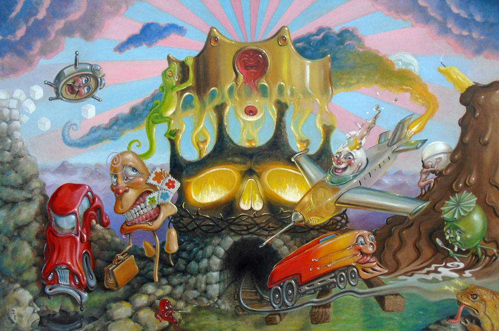 pop surrealism and lowbrow painting