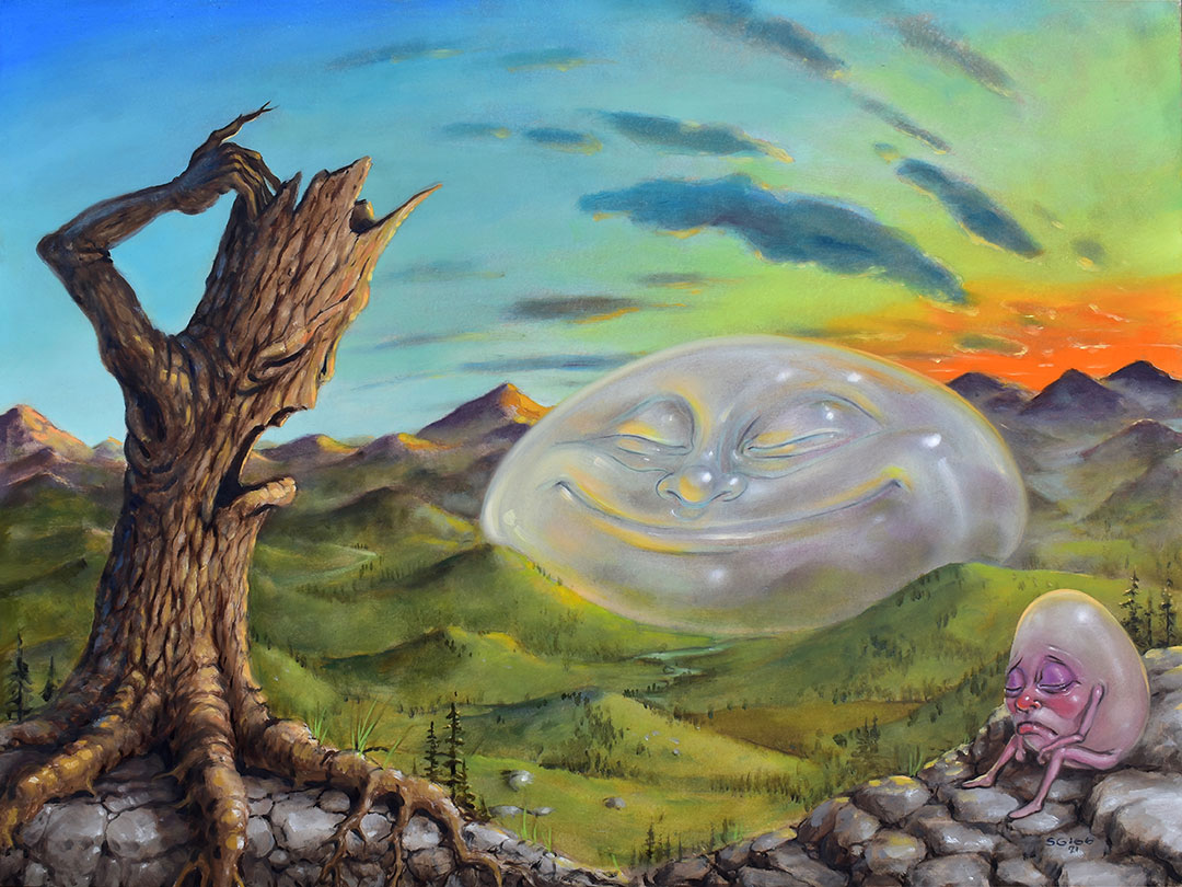 pop surrealism landscape